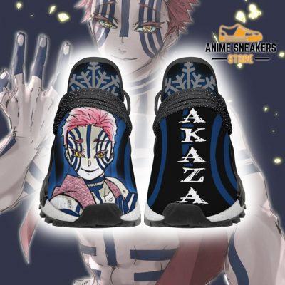 Demon Slayer Shoes Akaza Custom Anime Sneakers Men / Us6 Nmd