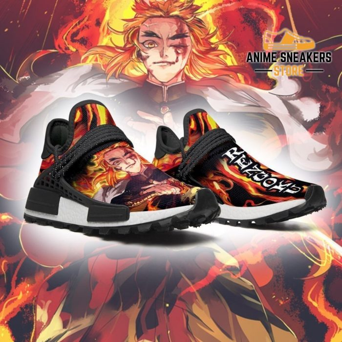Demon Slayer Shoes Rengoku Skill Anime Sneakers Nmd