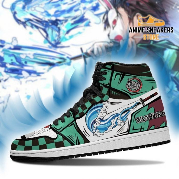 Tanjiro Sneakers Demon Slayer Anime Custom Shoes Mn04 Jd
