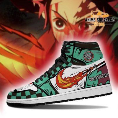 Tanjiro Sneakers Fire Skill Costume Demon Slayer Anime Shoes Mn04 Jd
