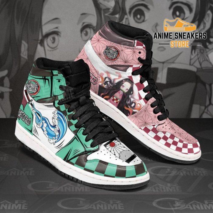 Tanjiro & Nezuko Sneakers Demon Slayer Anime Shoes Jd