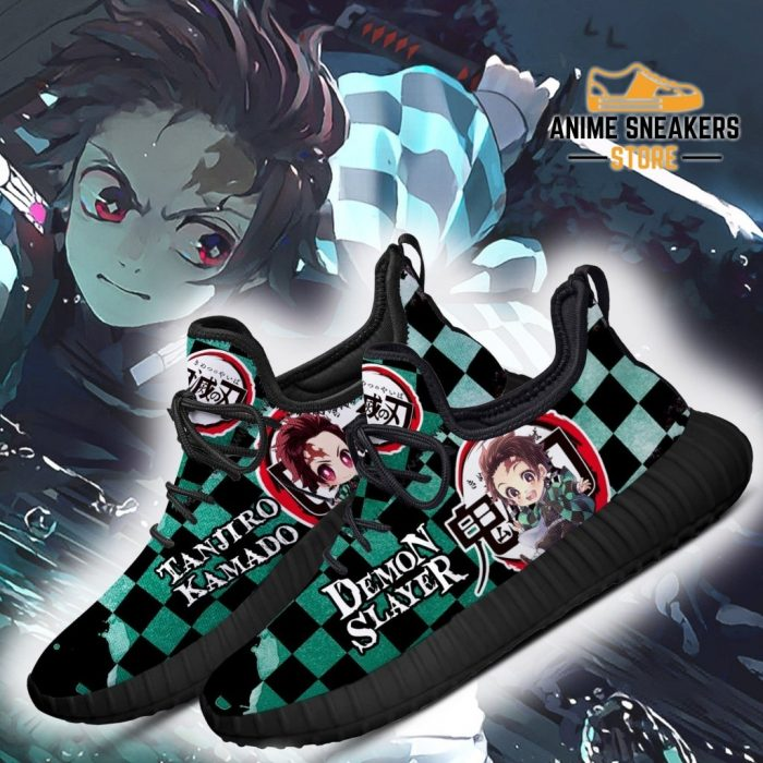 Tanjiro Reze Shoes Costume Demon Slayer Anime Sneakers Fan Gift Idea