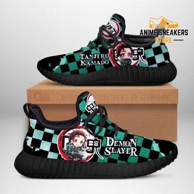 Tanjiro Reze Shoes Costume Demon Slayer Anime Sneakers Fan Gift Idea Men / Us6