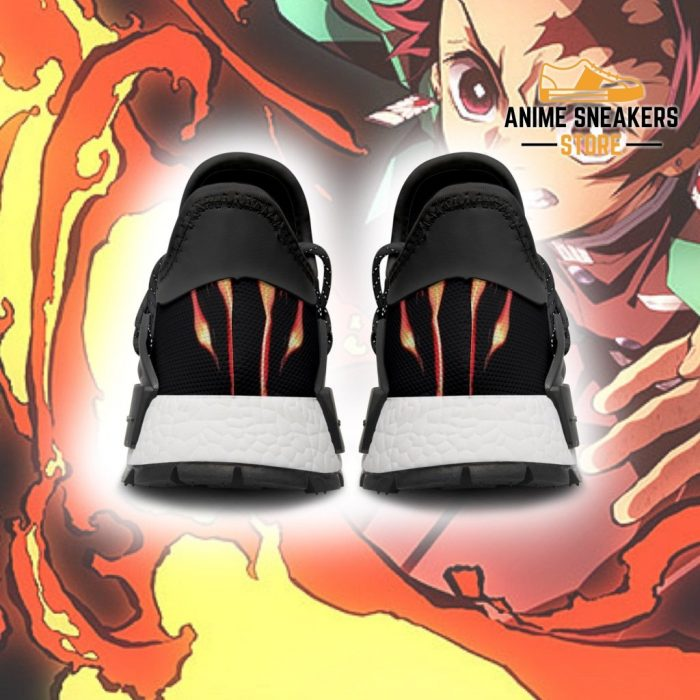 Demon Slayer Tanjiro Shoes Fire Breathing Anime Sneakers Nmd