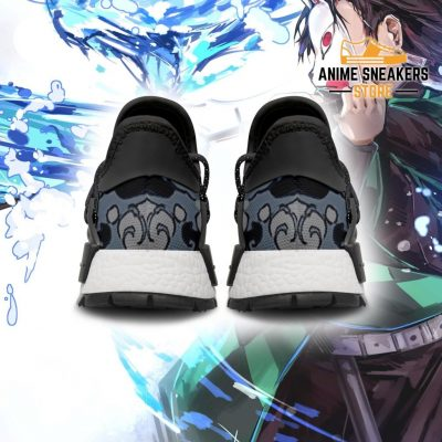 Demon Slayer Shoes Tanjiro Water Breathing Anime Sneakers Nmd
