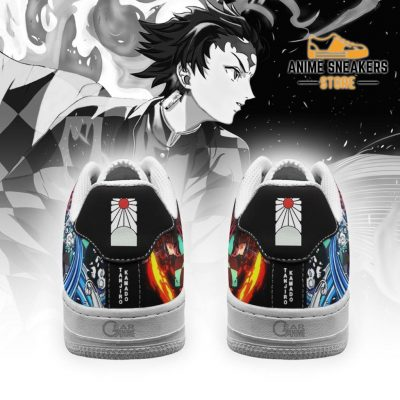 Tanjiro Water And Sun Shoes Demon Slayer Anime Sneakers Pt10 Air Force