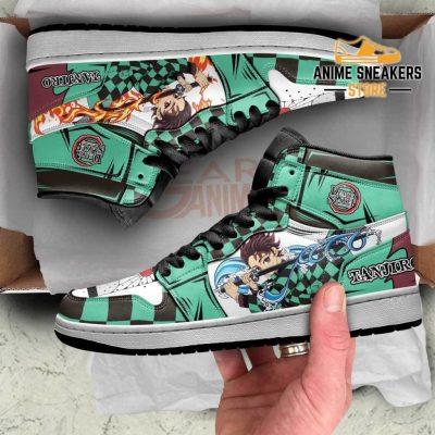 Tanjiro Sneaker Boots Water & Fire Demon Slayer Anime Shoes Fan Mn06 Jd Sneakers