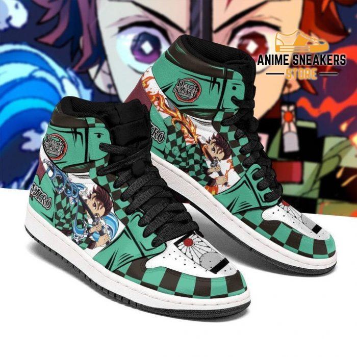 Tanjiro Sneaker Boots Water & Fire Demon Slayer Anime Shoes Fan Mn06 Men / Us6.5 Jd Sneakers