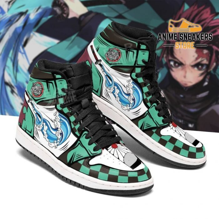 Tanjiro Water Skill Sneakers Anime Demon Slayer Kny Shoes Jd