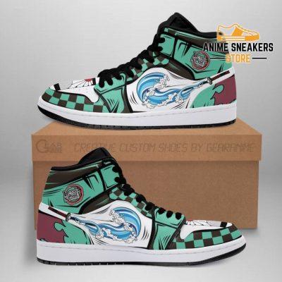 Tanjiro Water Skill Sneakers Anime Demon Slayer Kny Shoes Men / Us6.5 Jd