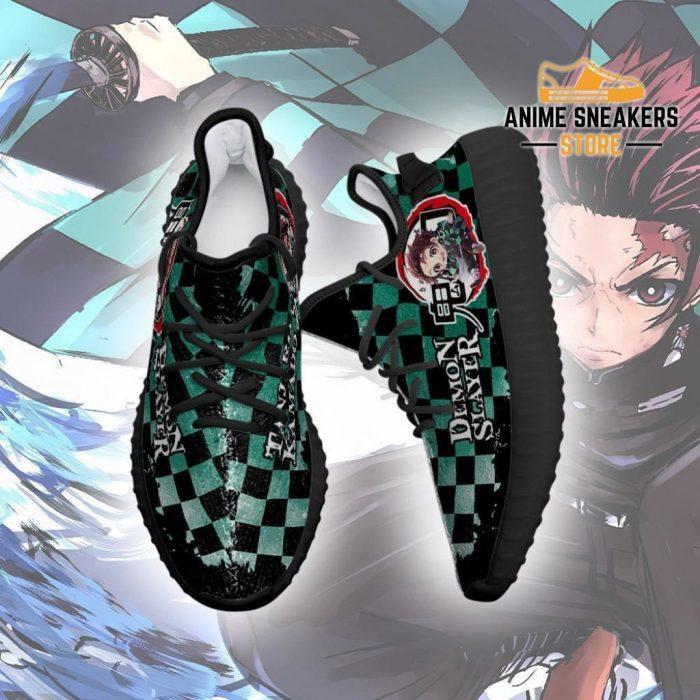 Tanjiro Yeezy Shoes Demon Slayer Anime Sneakers Fan Gift Tt04
