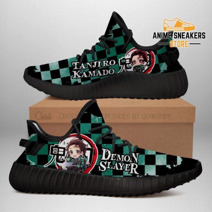 Tanjiro Yeezy Shoes Demon Slayer Anime Sneakers Fan Gift Tt04 Men / Us6