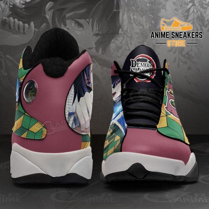 Tomioka Giyuu Sneakers Demon Slayer Anime Shoes Mn10 Jd13
