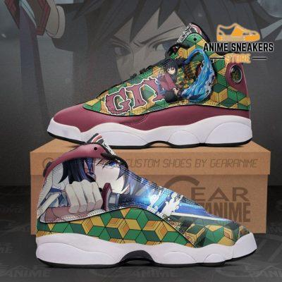 Tomioka Giyuu Sneakers Demon Slayer Anime Shoes Mn10 Men / Us6 Jd13