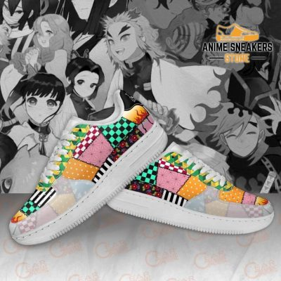 Demon Slayer Uniform Sneakers Kimetsu No Yaiba Shoes Pt10 Air Force