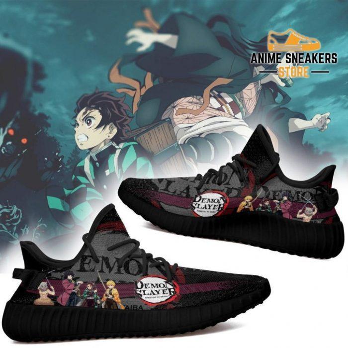 Demon Slayer Yeezy Anime Sneakers Shoes Fan Gift Idea Tt04