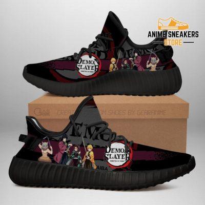 Demon Slayer Yeezy Anime Sneakers Shoes Fan Gift Idea Tt04 Men / Us6