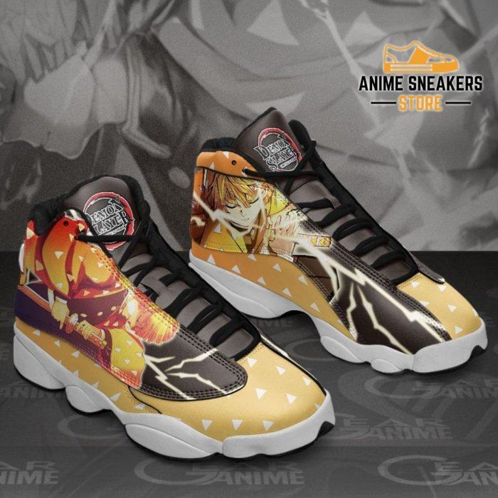 Zenitsu Agatsuma Sneakers Demon Slayer Anime Shoes Mn10 Jd13