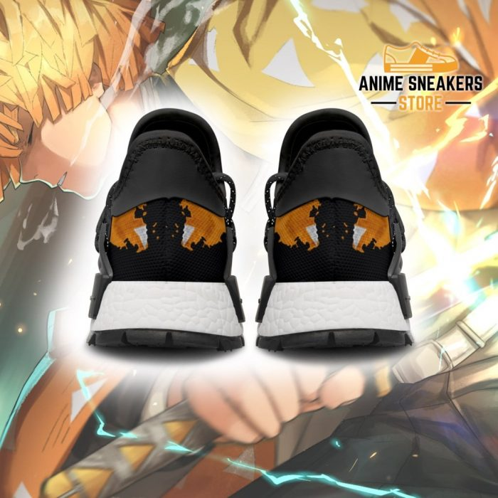 Zenitsu Agatsuma Shoes Custom Demon Slayer Anime Sneakers Nmd