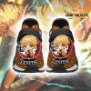 Zenitsu Agatsuma Shoes Custom Demon Slayer Anime Sneakers Men / Us6 Nmd