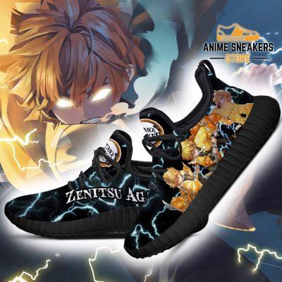 Demon Slayer Zenitsu Agatsuma Reze Shoes Custom Anime Sneakers
