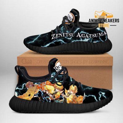 Demon Slayer Zenitsu Agatsuma Reze Shoes Custom Anime Sneakers Men / Us6