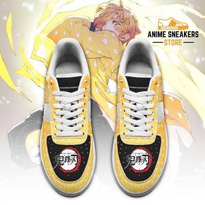 Zenitsu Sneakers Demon Slayer Anime Shoes Fan Gift Idea Pt06 Air Force