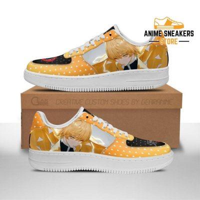 Zenitsu Sneakers Demon Slayer Anime Shoes Fan Gift Idea Pt06 Men / Us6.5 Air Force
