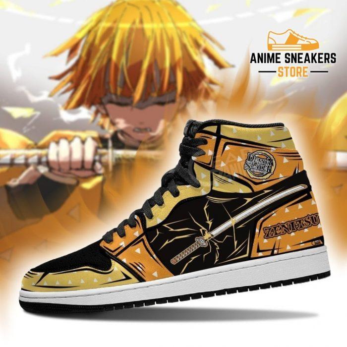 Zenitsu Sneaker Boots J1 No Pic Demon Slayer Shoes Anime Fan Gift Mn06