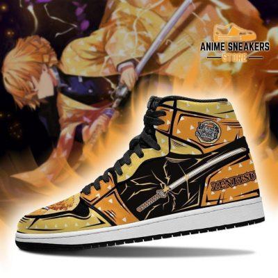 Zenitsu Sneakers Demon Slayer Kimetsu No Yaiba Anime Shoes Mn04 Jd