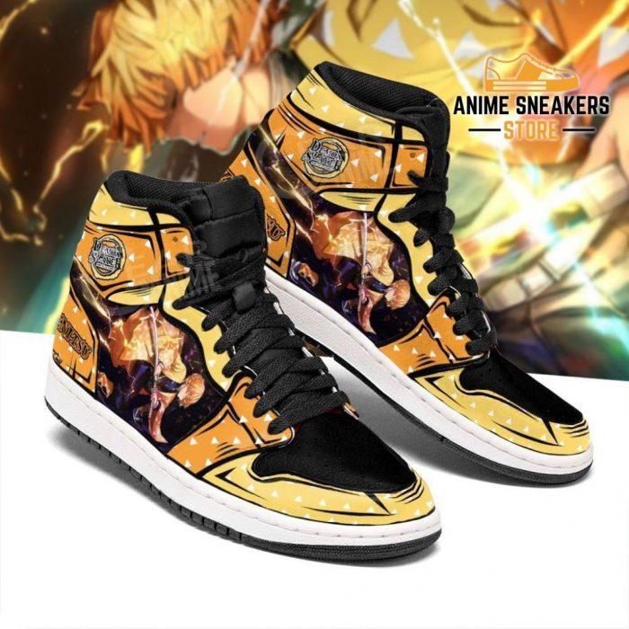 Zenitsu Shoes Boots Skill Thunder Breathing Demon Slayer Anime Sneakers Fan Jd
