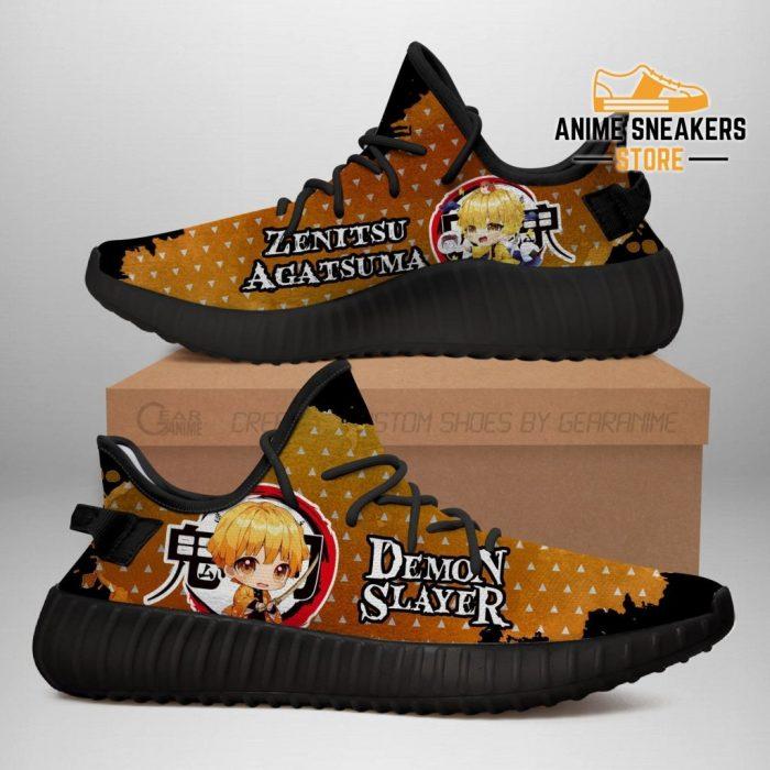 Zenitsu Yeezy Shoes Demon Slayer Anime Sneakers Fan Gift Tt04 Men / Us6