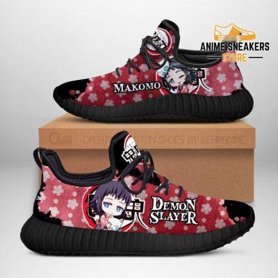 Makomo Reze Shoes Demon Slayer Anime Sneakers Fan Gift Idea Men / Us6