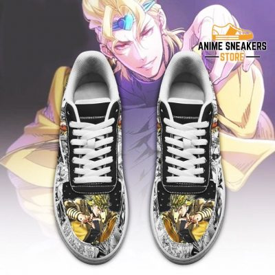 Dio Brando Sneakers Manga Style Jojos Anime Shoes Fan Gift Pt06 Air Force