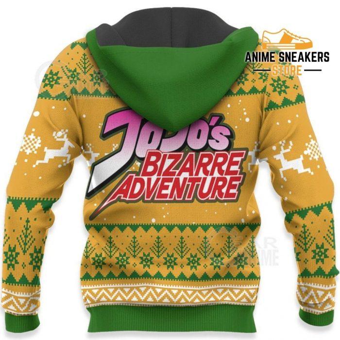 Dio Brando Ugly Christmas Sweater Jojos Bizarre Adventure Anime Va11 All Over Printed Shirts