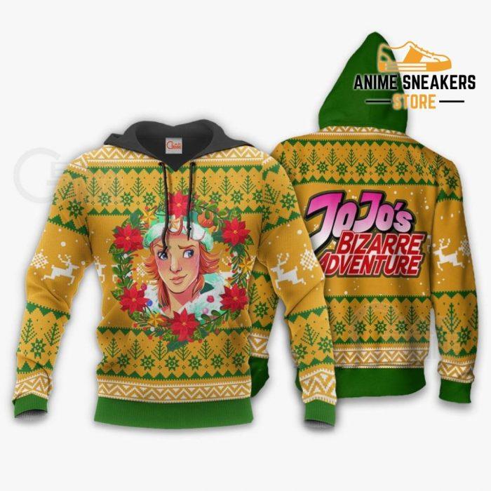 Dio Brando Ugly Christmas Sweater Jojos Bizarre Adventure Anime Va11 Hoodie / S All Over Printed