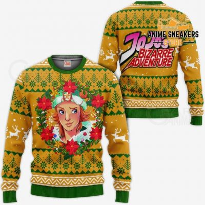 Dio Brando Ugly Christmas Sweater Jojos Bizarre Adventure Anime Va11 / S All Over Printed Shirts