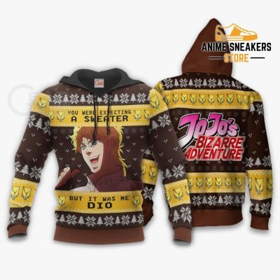 Dio Brando Ugly Christmas Sweater Jojos Bizarre Adventure Xmas Va11 Hoodie / S All Over Printed