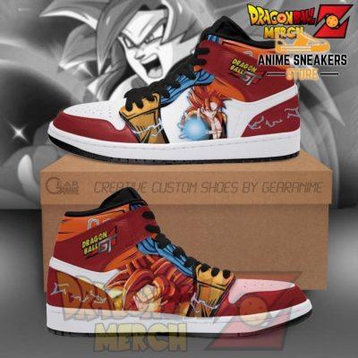 Gogeta Super Saiyan 4 Jordan Sneakers Dragon Ball Gt Shoes Men / Us6.5 Jd