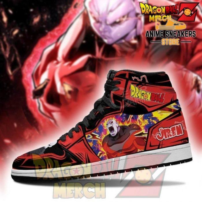 Jiren Power Jordan Sneakers Dragon Ball Super Shoes No.2 Jd