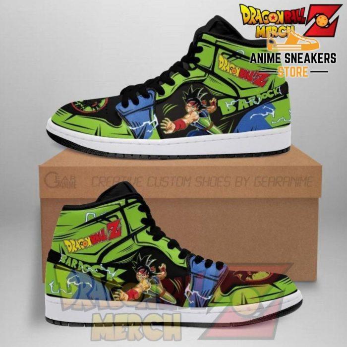 Bardock Dragon Ball Z Jordan Sneakers Ba02 Men / Us6.5 Jd