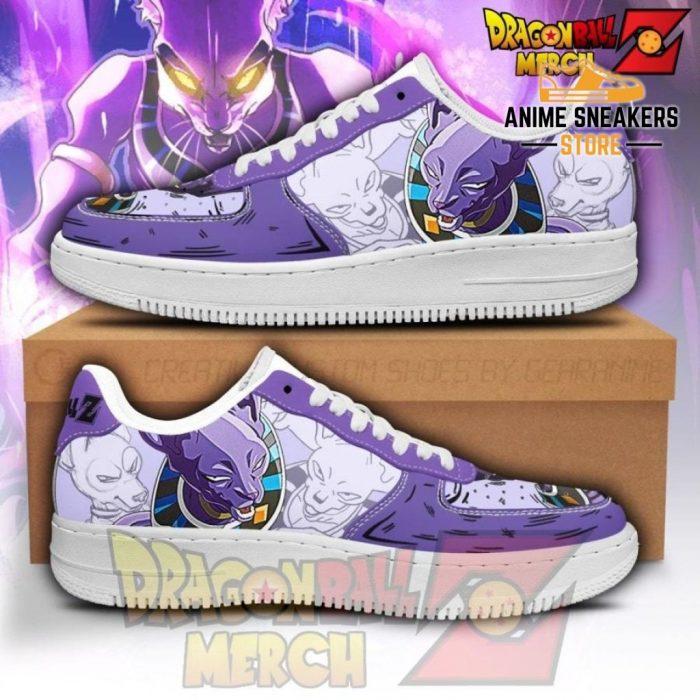 Beerus Air Force Custom Sneakers No.1 Men / Us6.5 Shoes