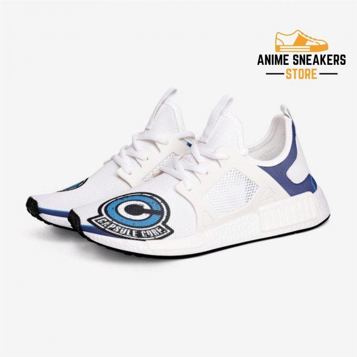 Dragon Ball Z Capsule Corp Custom Nomad Shoes 3 / White Mens