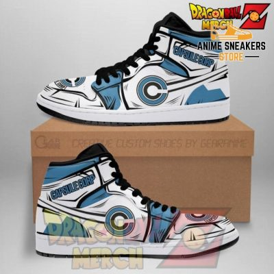 Dragon Ball Z Capsule Corp Shoes Boots Nn02 Men / Us6.5 Jd Sneakers