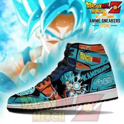 Dragon Ball Z Goku Blue Jordan Sneakers No.8 Jd