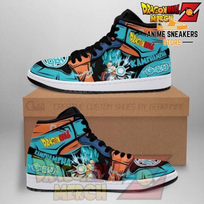 Dragon Ball Z Goku Blue Jordan Sneakers No.8 Men / Us6.5 Jd
