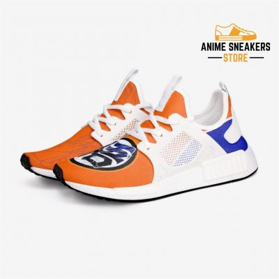 Dragon Ball Z Goku Training Go Symbol Custom Nomad Shoes 3 / White Mens