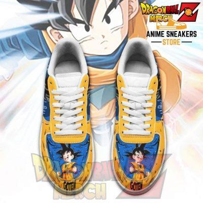 Goten Air Force Sneakers Custom Shoes No.1
