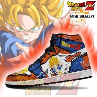 Dragon Ball Z Gotenk Jordan Sneakers Custom No.1 Jd