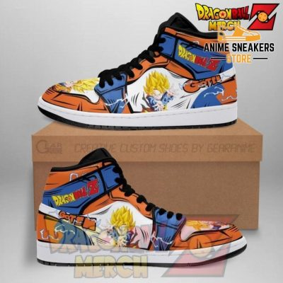 Dragon Ball Z Gotenk Jordan Sneakers Custom No.1 Men / Us6.5 Jd